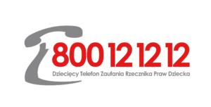 Dziecięcy telefon Zaufania Rzecznika Praw Dziecka 800121212