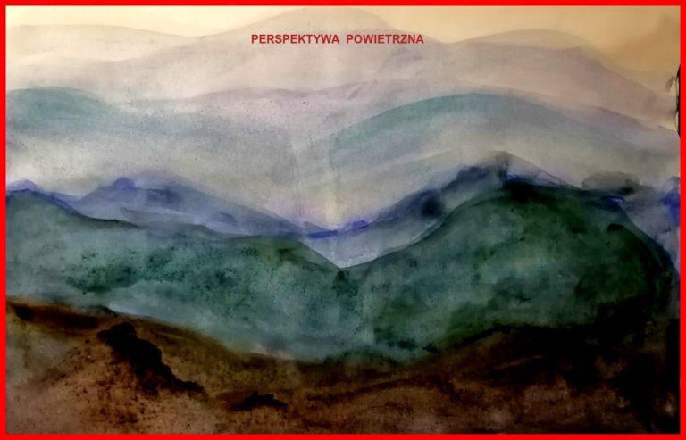 Eryk Niedźwiecki Perspektywa malarska i powietrzna