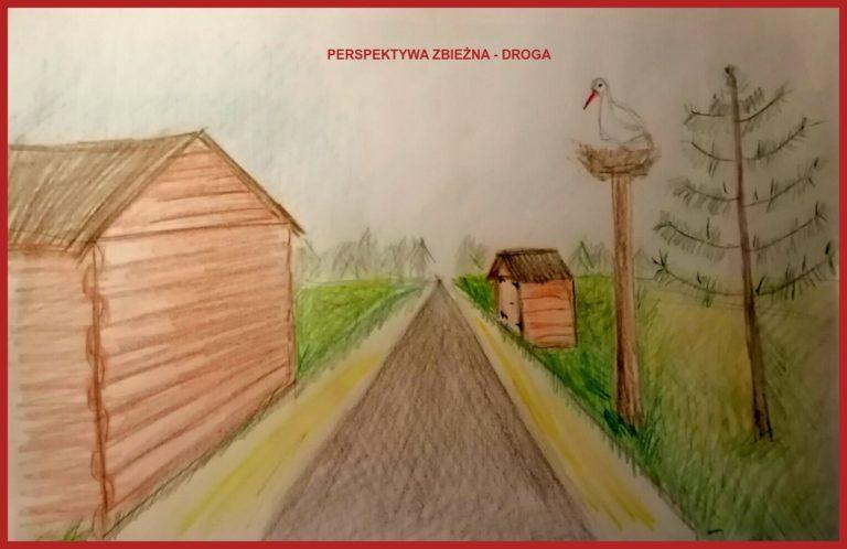 Erytk Niedźwiecki Perspektywa zbieżna - droga