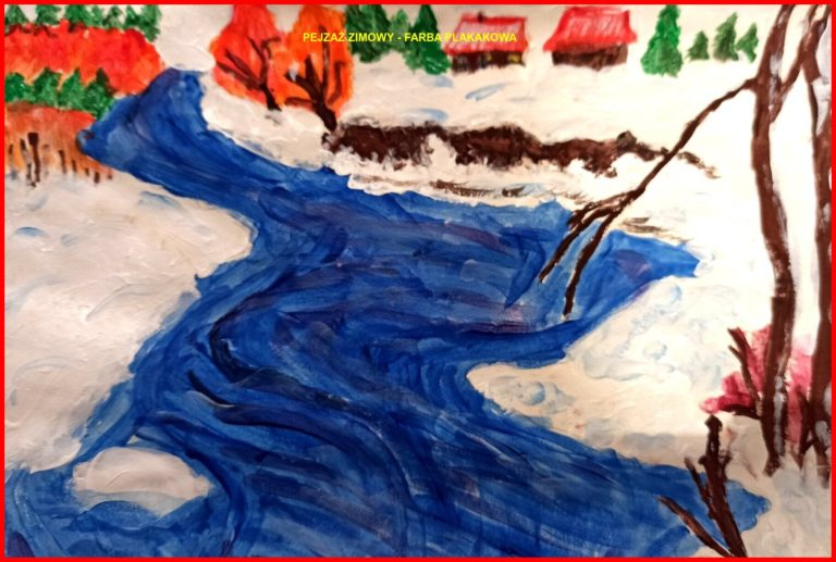 Maya McAlister - Pejzaż zimowy