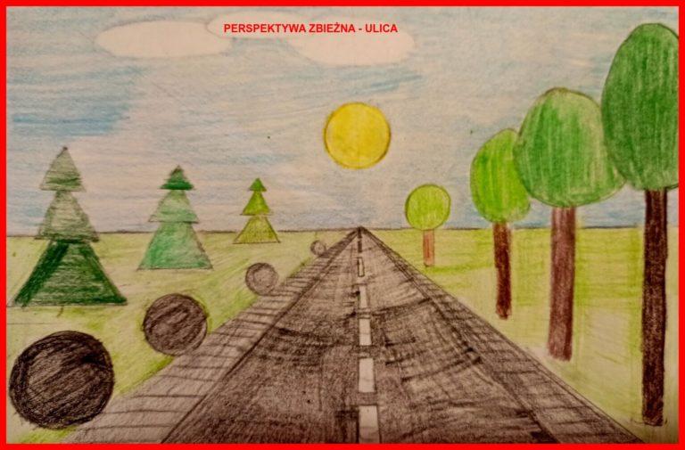 Maya McAlister Perspektywa zbieżna - ulica