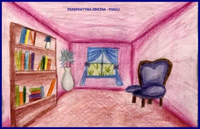 Perspektywa zbieżna - pokój Sonia Czubak