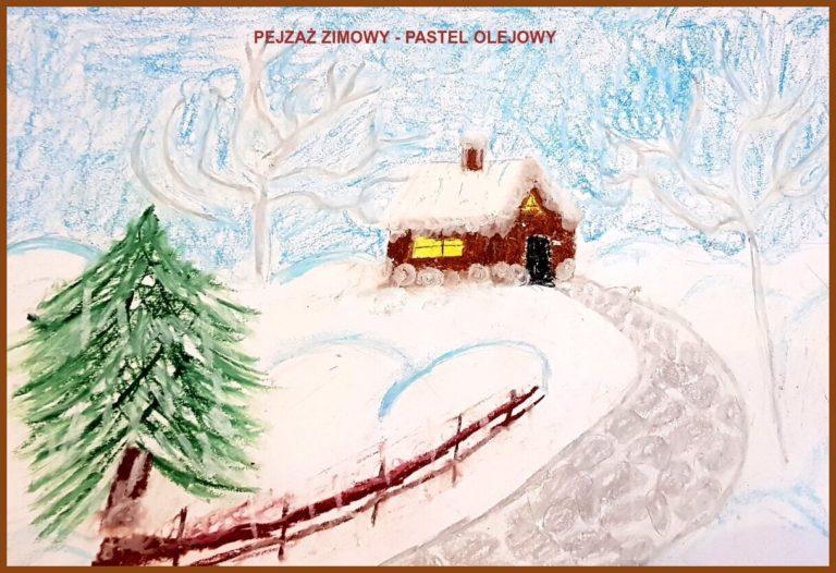 Wiktor Wiśniewski - Pejzaż zimowy