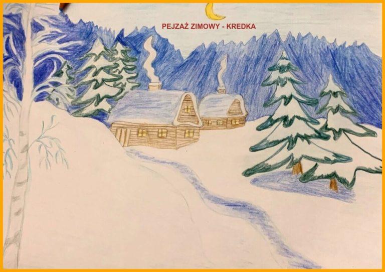 Zuzanna Wróblewska - Pejzaż zimowy